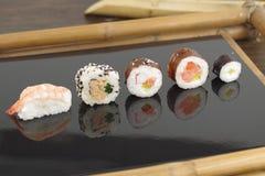 开胃部分寿司 图库摄影