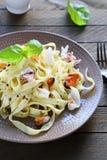开胃面团用淡菜和乌贼 免版税库存照片