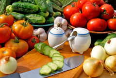 开胃食物蔬菜 免版税库存照片