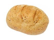 开胃整粒面包被采取的特写镜头 查出 库存图片
