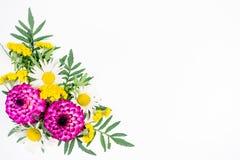 开花构成图象 免版税库存照片