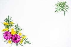 开花构成图象 库存照片