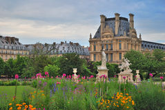 开花的巴黎 图库摄影