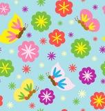 开花的模式春天 免版税图库摄影