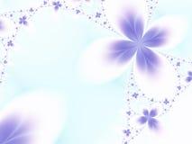 开花紫罗兰 向量例证
