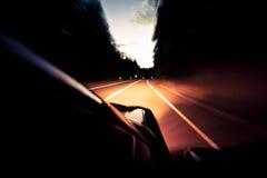 开车回家 免版税图库摄影