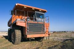 开采的卡车 免版税库存图片