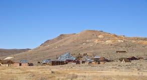 开采老城镇的美国鬼魂西部 库存图片
