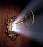 开锁的梦想 向量例证