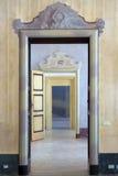 开门18世纪连续  免版税库存图片