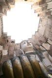 开头注视佛教Wat Si密友, Sukhothai 库存照片