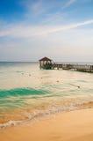 异乎寻常的天堂 旅行、旅游业和假期的概念 一种热带手段在加勒比 图库摄影