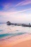 异乎寻常的天堂 旅行、旅游业和假期的概念 一种热带手段在加勒比 免版税库存照片