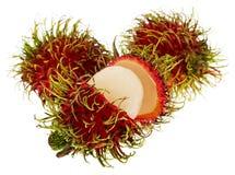 异乎寻常的果子红毛丹 库存图片