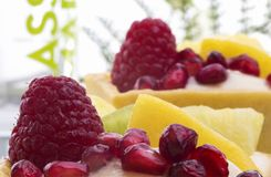 异乎寻常的果子馅饼 免版税库存照片