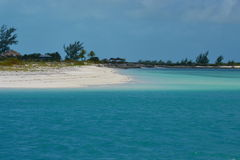 异乎寻常的海岛 图库摄影