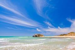 异乎寻常的海滩 免版税库存照片