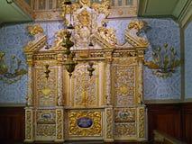 异乎寻常的犹太教堂陈设品 库存照片