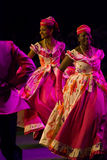 异乎寻常的舞蹈演员 免版税库存图片