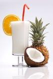 异乎寻常的Pina Colada饮料 免版税库存照片
