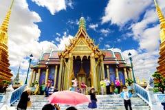 异乎寻常的旅行和冒险 泰国旅行 菩萨和地标 免版税库存图片