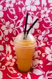 异乎寻常的果汁饮料震动 库存照片