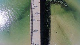 异乎寻常的桥梁 图库摄影