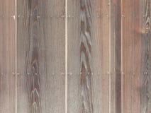 异乎寻常的棕色篱芭 免版税图库摄影