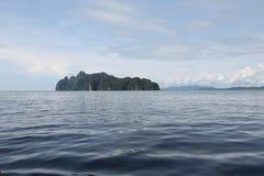 异乎寻常的海岛 泰国 免版税库存照片
