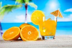 异乎寻常的酒精饮料,自然五颜六色的口气 库存图片