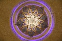 异乎寻常的阿拉伯枝形吊灯 免版税库存图片