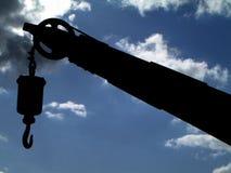 异常分支在港口 免版税库存图片