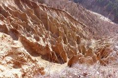 异常的山 美好的风景保加利亚 免版税图库摄影