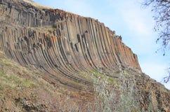 异常的岩层 库存图片
