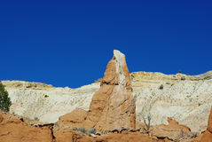 异常的岩石, Kodachrome,犹他 免版税库存照片