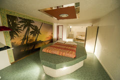 异常的旅馆客房在法国 库存图片