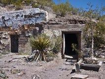 异常的沙漠住宅 库存照片