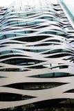 异常的美丽的大厦在巴塞罗那,西班牙 免版税库存图片