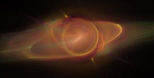 异常的行星空间 免版税库存照片