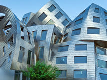 异常的建筑学在拉斯维加斯 免版税库存照片