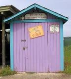 异想天开加勒比五颜六色的棚子 免版税库存图片