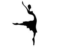 异想天开的舞蹈演员 免版税库存照片