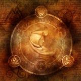 异教的女巫 免版税图库摄影