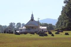 仪式教会礼拜式婚礼 图库摄影