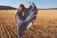 式样佩带的最大的礼服户外 图库摄影