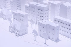 式样城市 免版税图库摄影