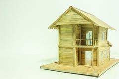 式样木房子 库存图片
