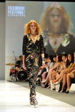 式样陈列从与珠宝题材王国的施华洛世奇设计在奥迪时尚节日2012年 免版税图库摄影