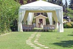 仪式的帐篷 图库摄影