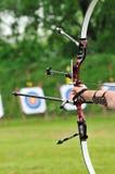 弓体育运动 库存照片